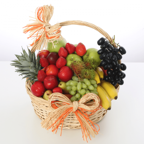 Mix Fruits in a Basket