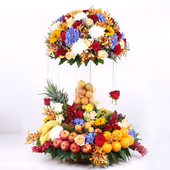 beautiful Garden Fruits Arrangement
