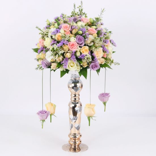Lavish Pastel Centerpiece