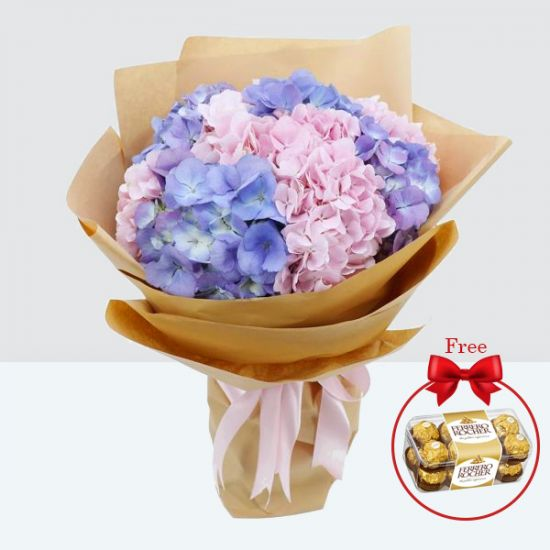 Beautiful Hydrangea Bouquet online delivery