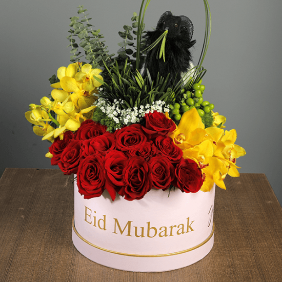 Eid Gift - Rose & Cymbidium