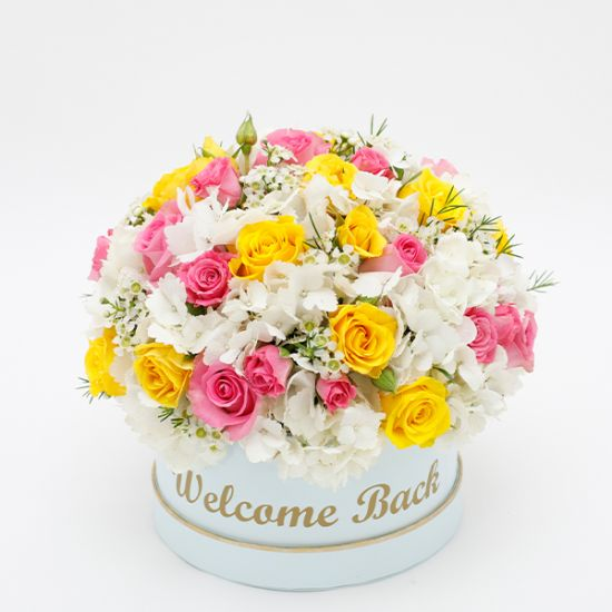Welcome Back Flower Box