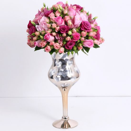 Lavish Pink Centerpiece