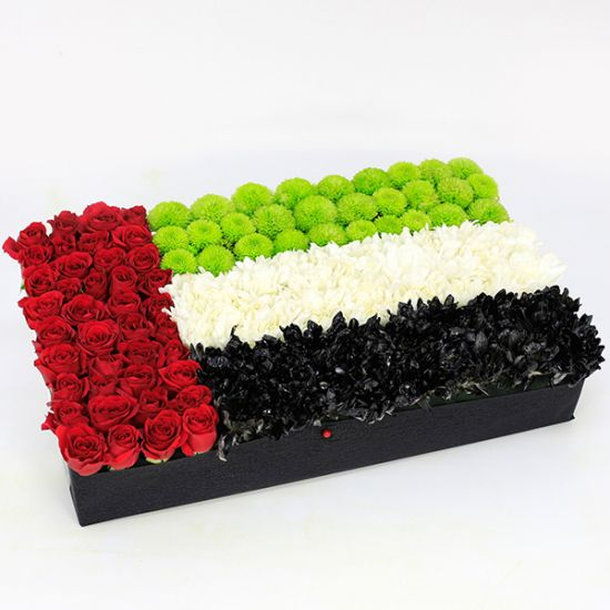 UAE Flag Arrangement in Box