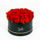 Red Rose in black box