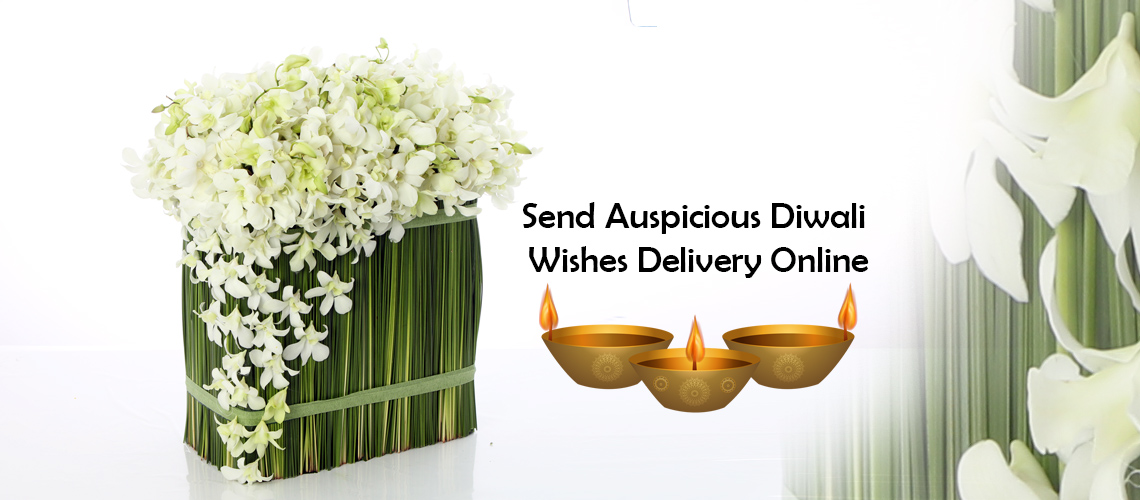 Send Auspicious Diwali Wishes Delivery Online